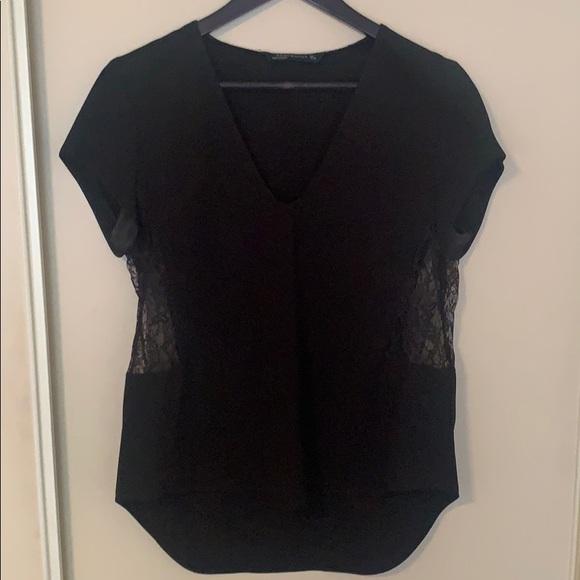 Zara Tops - Short Sleeve Blouse